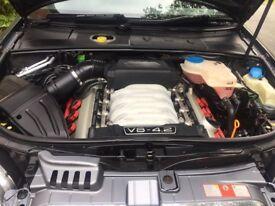 Audi S4 4.2 V8 Quattro 344bhp Paddleshift Avant RS4 Alloys Recaro Heated Seats Miltek Exhaust