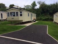 Gorgeous luxury Caravan Holiday Home at the ever popular Looe Bay Holiday Park in Cornwall