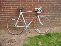 "Raleigh,Racing Bike,(Classic),23.5""60cm,Frame,700c Alloy Wheels, SERVICED."