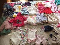Girls bundle 3-6 6-9 9-12 12-18 month