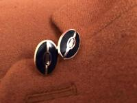 Rugby Cufflinks by PINK (Thomas Pink)