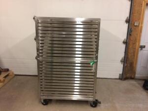 Plateaux de séchage acier inoxydable, échelle à plateau - Stainless steel drying trays, drying rack
