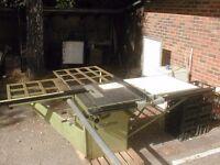 Startrite Tilt Arbour table saw. 3 phase