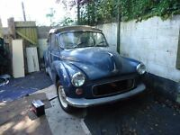 MORRIS 1000 CONVERTIBLE BARN FIND EASY PROJECT