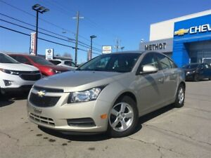 2013 Chevrolet Cruze LT Turbo + CUIR + AUTOMATIQUE + CERTIFIE