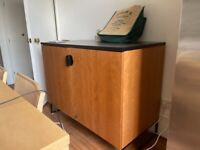 Mid Century Teak Cupboard Solid Wood