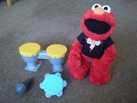 REDUCED PRICE - ELMO 'Let's Rock', Large Singing and Dancing Sesame Street Kids Toy