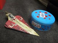 STAR WARS LARGE STARFIGHTERS 2001,2002 +2004 IN EXCELLENT CONDITION £10 EACH