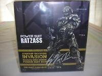 SIGNED LIMITED EDITION STARSHIP TROOPERS INVASION BLU-RAY SET