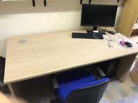 2 X 150cm long Office desk