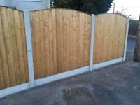 🍭New Arch Top Fence Panels // High Quality
