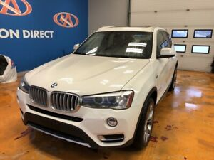 2015 BMW X3 xDrive28i AWD/LEATHER/ NAVI/ PANO SUNROOF! HEATED...