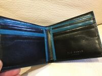 TED BAKER GENUINE BLACK LEATHER WALLET