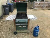 Gas bbq + gas bottle