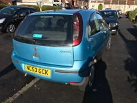 Vauxhall corsa LOW MILAGE