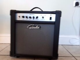 Gould guitar amp 20 watt good condition £20. Collection only.