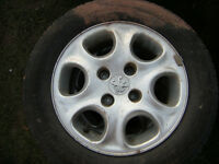 peugeot 306 alloy wheels and tyres