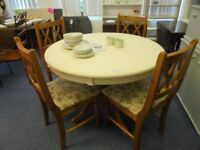DINING TABLE AND 4 CHAIRS MANAGERS SPECIAL
