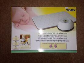 Tomy movement sensor pad baby monitor