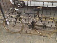 vintage bike in good condition