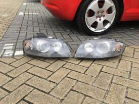 Audi A3 xenon head lights