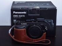 Panasonic Lumx GX7 with 6 batteries and more!