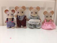 Sylvanian Families Mouse Family