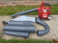 Efco professional petrol blower costs £250 (see photo 2) without the vac kit im including