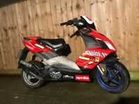 Aprilia sr 50cc 2007 scooter moped moted quick sale