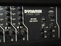 PA SYSTEM DYNAMIX 250-R !!! PRICE SLASHED!!!