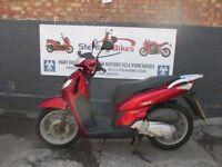 HONDA SH 125cc RED COLOUR MODEL 2007 VERY GOOD CONDITION