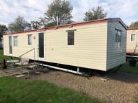 3 bedroom 8 berth caravan New Hall caravan site DL13 3PE