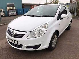 2008 58 Vauxhall Corsa Van 1.3 CDTI Eco Flex White Van *NO VAT*