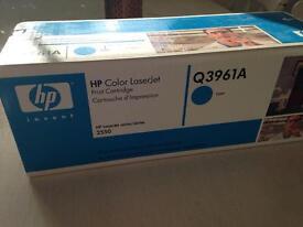 HP color laserjet print cartridges Q3961A
