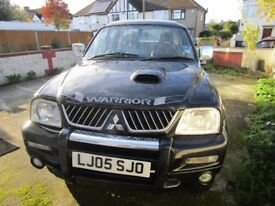 Mitsubishi L200 4x4 2.8 Turbo Diesel **Automatic & Long MOT**