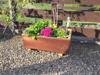 Fire Clay planters