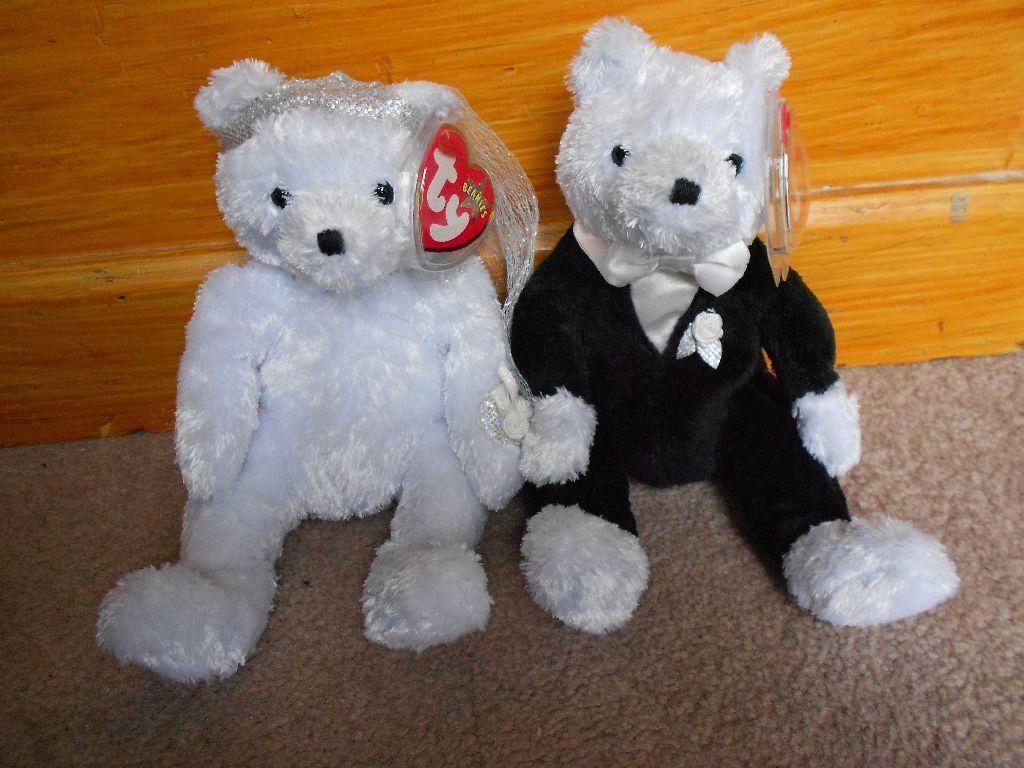 2795eacb1fe Ty beanie babies wedding bears in bedminster bristol gumtree JPG 1024x768 Beanie  babies bears