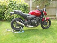 For Sale Honda Hornet CB600F , year 2009 ,low milege 10,000 will rise a little,lots of extra's