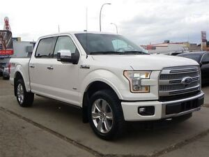 2015 Ford F-150 Platinum FX4 PKG|3.5L ECOBOOST|LOADED|PANO-ROOF