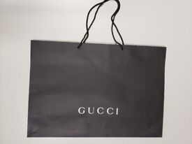 089b6fd5b Gucci Paper Shopping Bags Gucci Retail Paper Large Carrier Bags £ 1.50