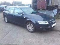 2005 Audi A6 C6 2.0TDI BRE Avant estate BREAKING For Parts Spares Grey