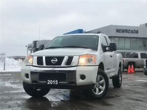 2015 Nissan Titan SV, REAR VIEW CAM , 4X4, ONE OWNER, NO ACCI...