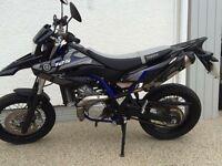 Yamaha wr125x low genuine mileage