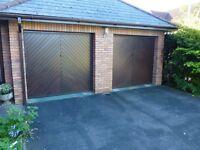 Pair of matching Cardale Garage Doors