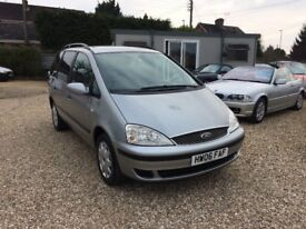 Ford Galaxy 1.9 TDi LX. 2006 7 seats. One Isle of White health authority owner.
