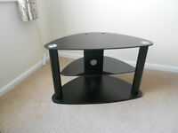 TV Stand - Glass , excellent condition