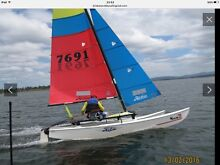Hobie 16 sails for sale. main sail and jib Darra Brisbane South West Preview