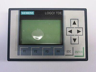 Siemens LOGO Textdisplay TDE Generation 8 6ED1055-4MH00-0BA1 12...24 V  NEU OVP
