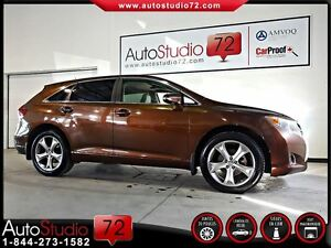 2013 Toyota Venza V6 **TOIT PANO**CUIR**FINANCEMENT 100%**