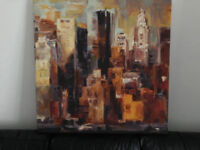 NEW YORK CANVAS FROM FURNITURE VILLAGE